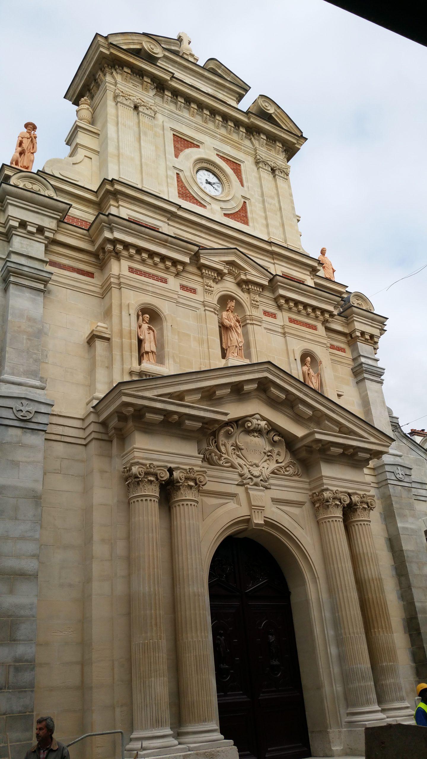 Eglise Saint Louis de Fontainebleau (MH) 77