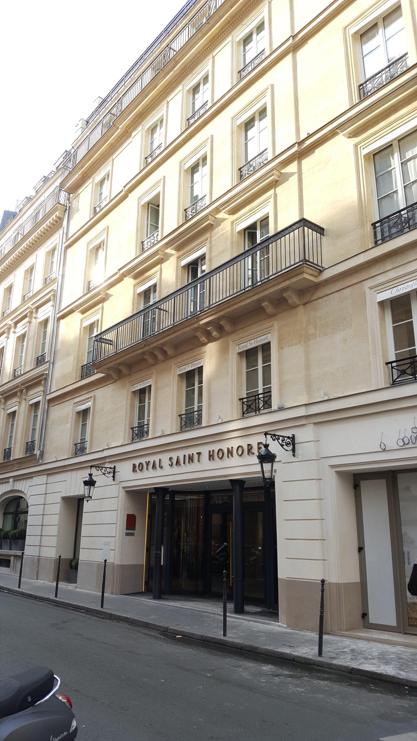 Hotel Royal St Honoré 75007