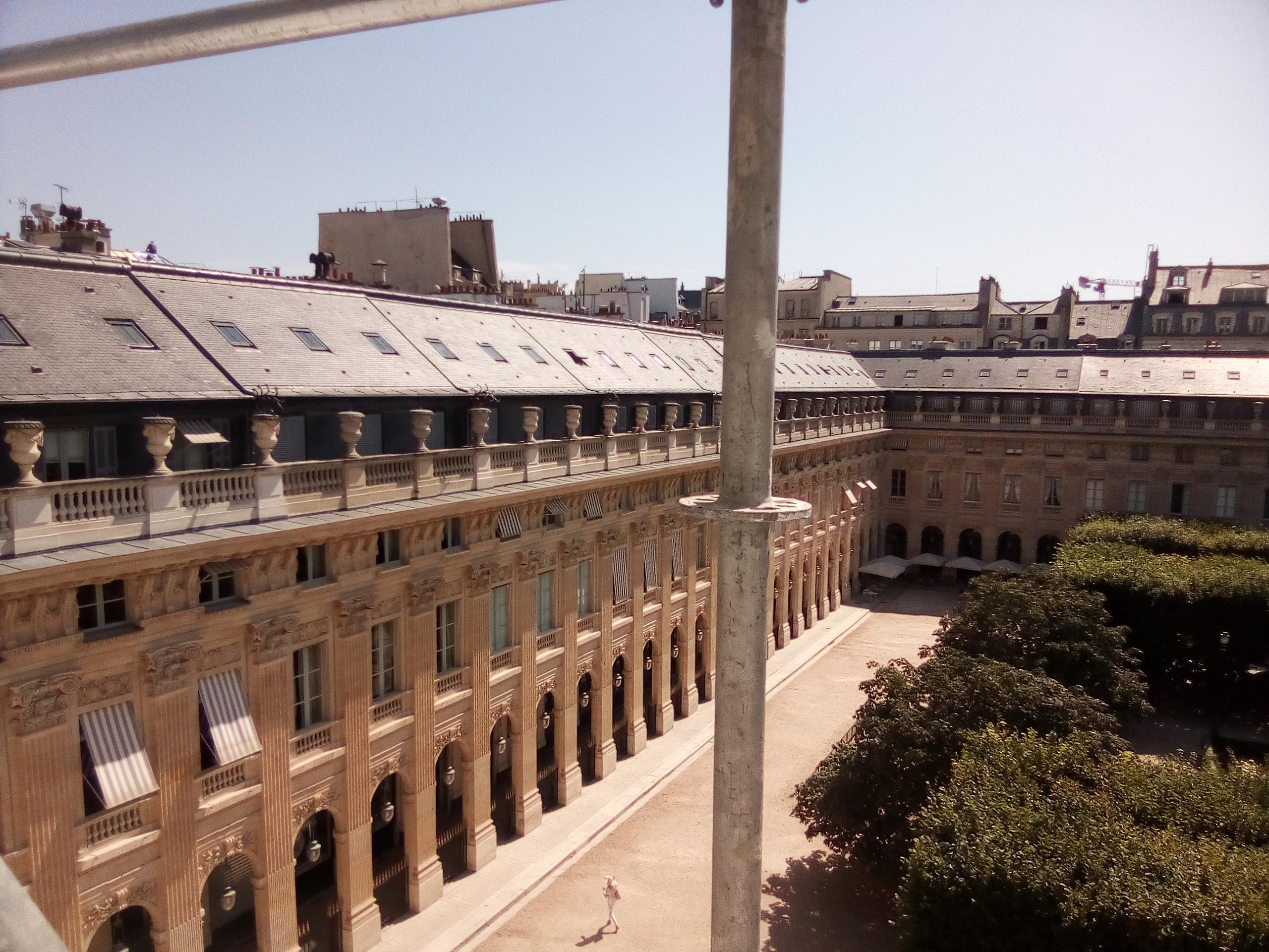 36 Montpensier, jardins du Palais Royal (MH)